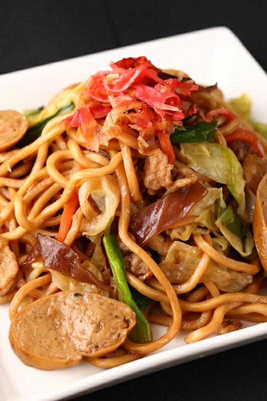 茶美豬日式懷舊炒麵 1