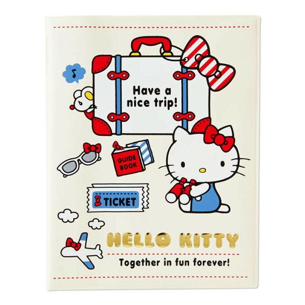 X射線【C594223】HelloKitty護照套,存摺簿套帳冊套護照套文件套資料夾照片夾支票包登機證