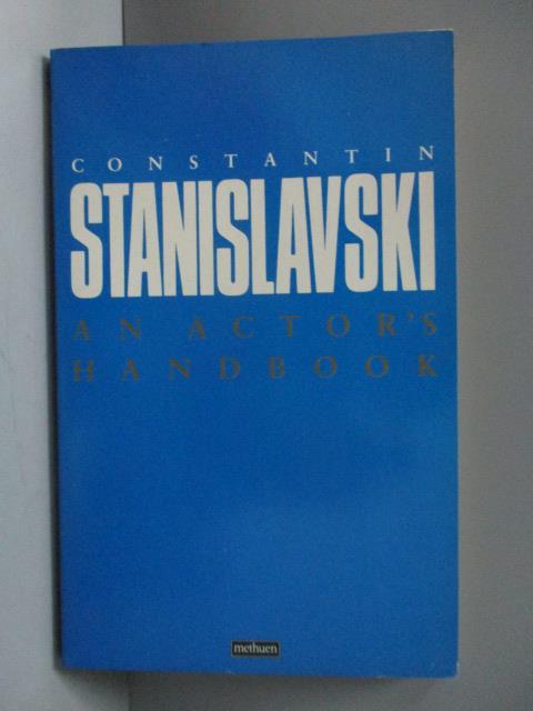 ~書寶 書T4/原文書_OSK~An Actor #x27 s Handbook_Cons