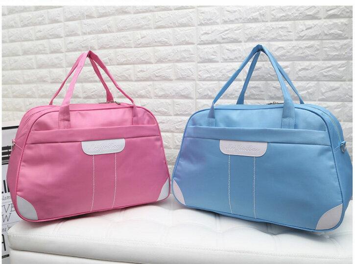 韓版牛津布防水大容量旅行包 行李袋 大包 出國旅行