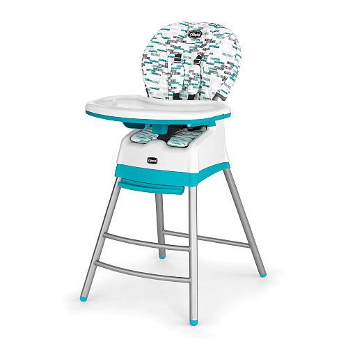 義大利【Chicco】Stack三合一多 成長高腳餐椅 6M-3Y -藍