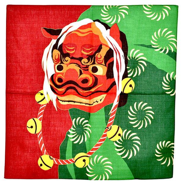 獅子舞和風門簾屏風手巾日式輕鬆改變居家風格裝飾日本製