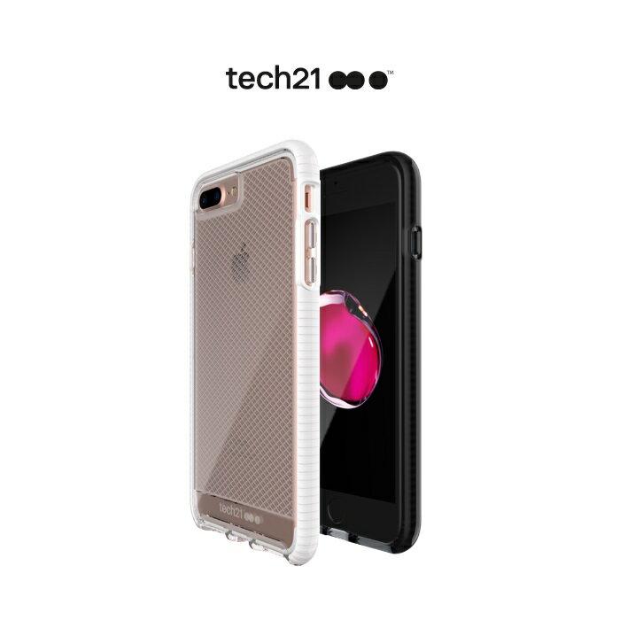 Tech21 英國超衝擊 Evo Check iPhone 7 Plus 5.5吋 防撞軟質格紋保護殼