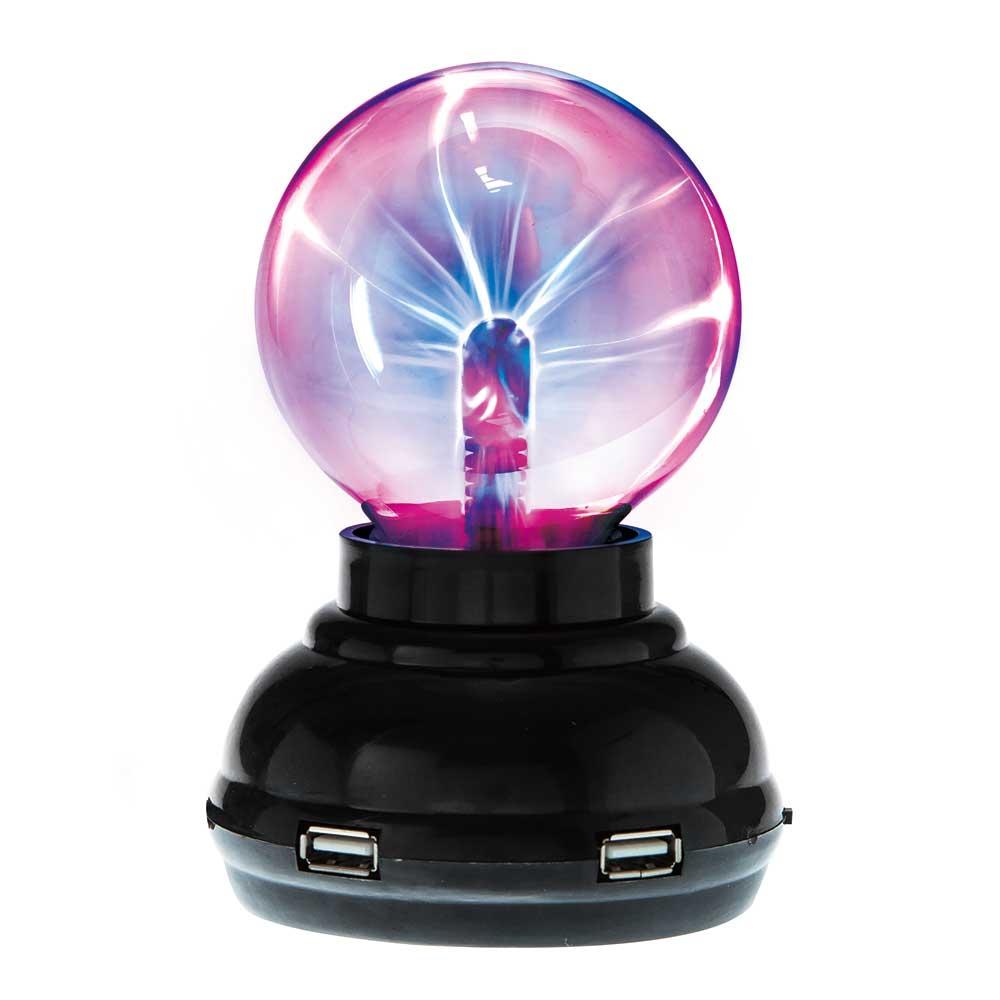 賽先生科學工廠|Plasma 電漿球/靜電球(USB hub功能)