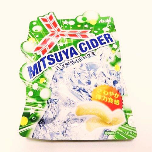 有樂町進口食品 日本進口 [ASAHI] 三矢軟糖 哈密瓜/鳳梨/蘇打/芒果 軟糖系列 44g 4946842524396 1