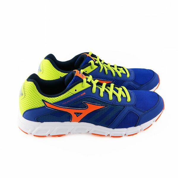 MIZUNO 美津濃 SYNCHRO SL 限量休閒款男慢跑鞋 亮藍 休閒鞋│運動鞋│健走鞋 J1GR162872 2