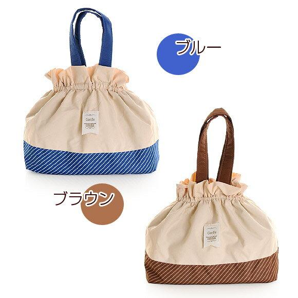 日本 Confe 可愛束口 便當袋 保冷保溫  /  sab-1252  /  日本必買 日本樂天直送 /  件件含運 7