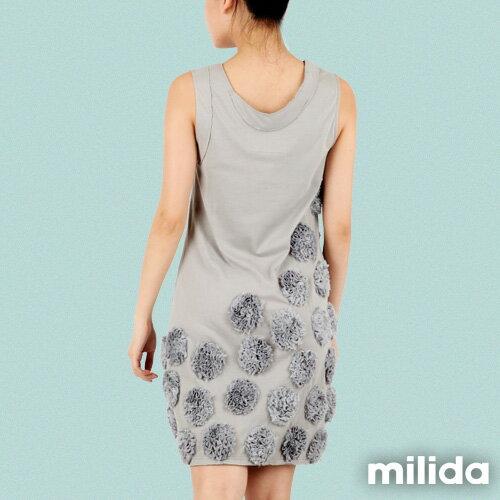 【Milida,全店七折免運】-早春商品-無袖款-獨家設計洋裝 2