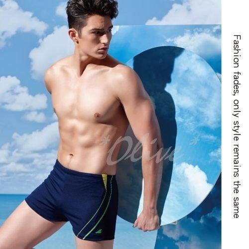 ☆小薇的店☆台灣製沙麗品牌新款【亮彩條紋側邊款式】時尚大男二分泳褲特價250元NO.5301(S-XL)