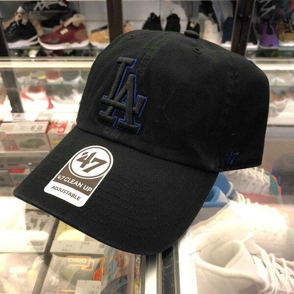 BEETLE47BRAND老帽洛杉磯道奇LOSANGELES大聯盟MLB黑藍LOGO