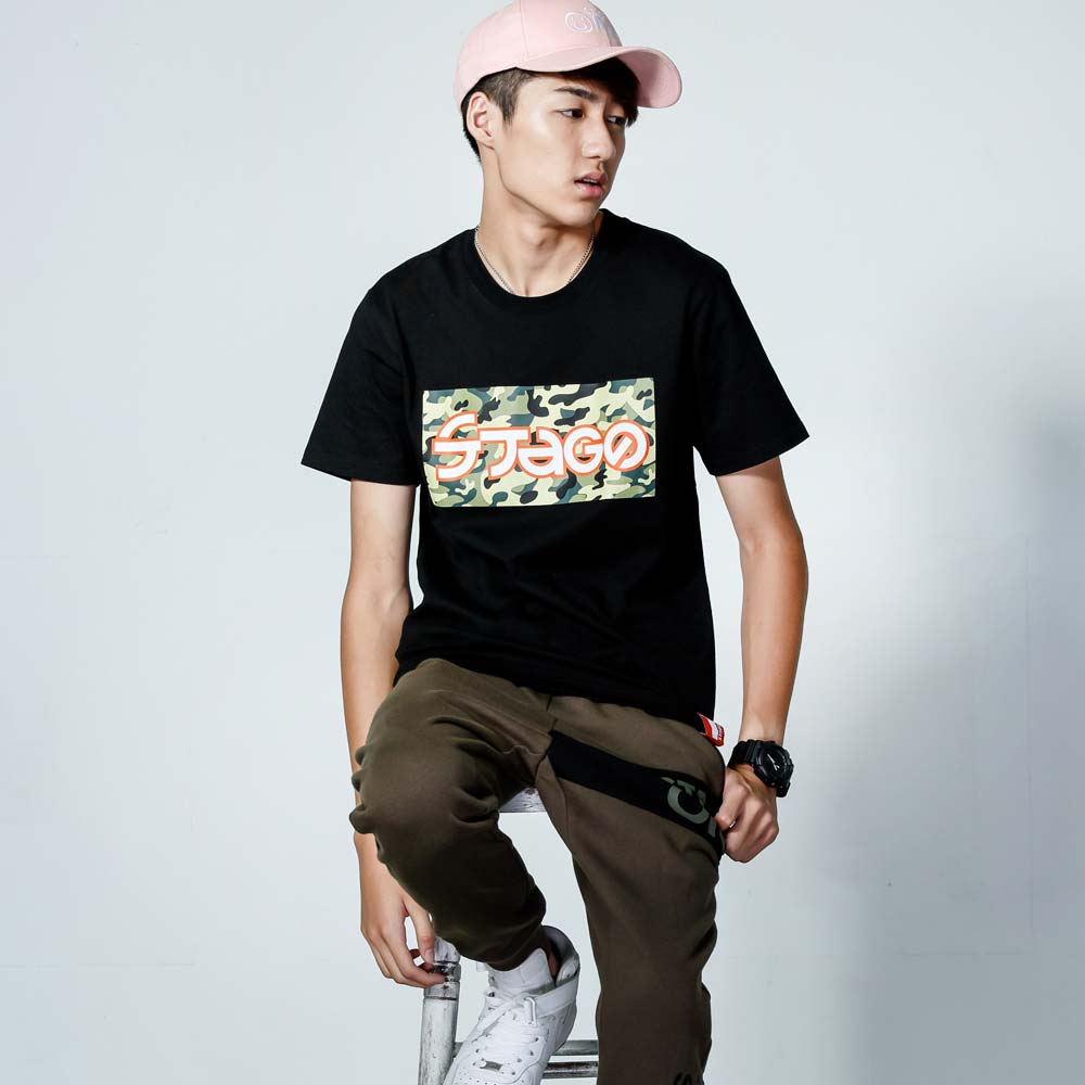 STAGEONE FORCE 1 TEE 黑色 / 白色 兩色 2