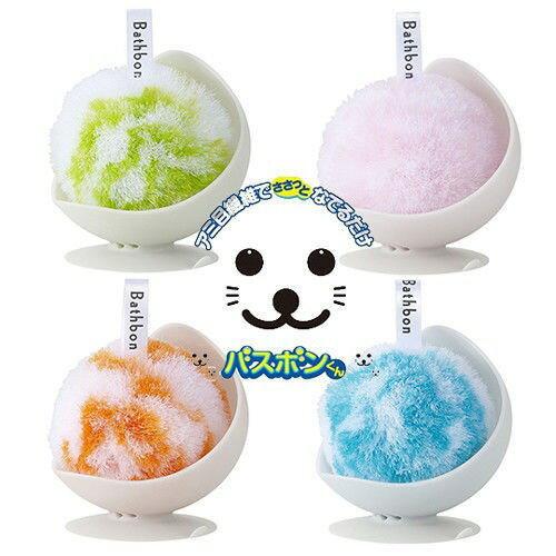 主婦最愛 日本進口小海豹時尚清潔球(顏色隨機出貨)