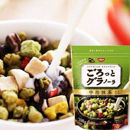 【SUPERSALE】Nissin日清綜合麥片-宇治抹茶200g 早餐穀物麥片
