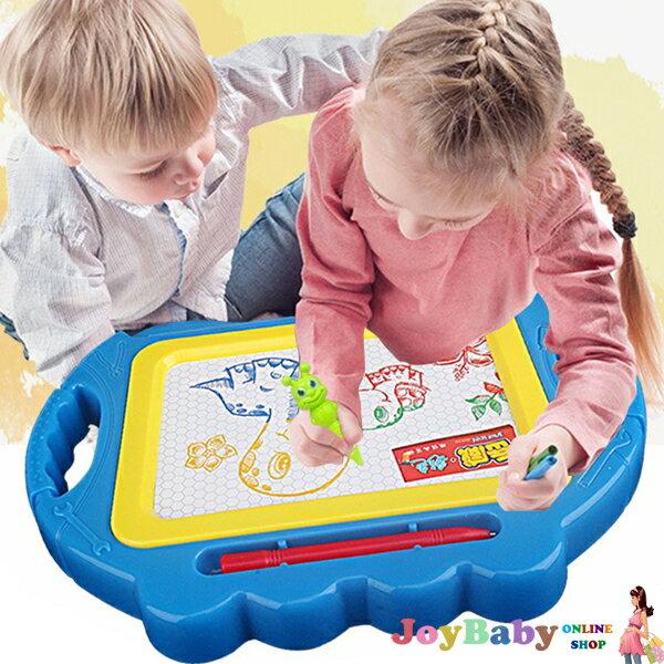 兒童玩具 岳威彩色磁性畫板寫字板 小號-JoyBaby