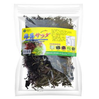 綠源寶   I  天然海藻沙拉(乾品) (袋裝)  I  80公克