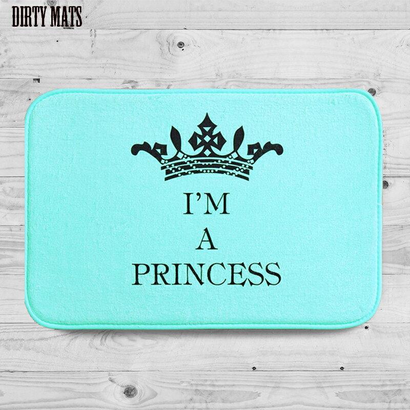 + 骯髒設計設計居家單品【Tiffany色 我是公主】Dirty Mats 珊瑚絨 踏墊地毯+