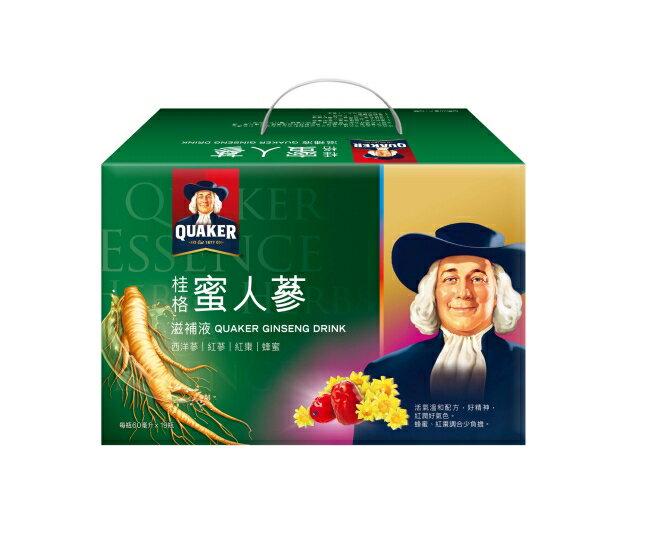 桂格蜜人蔘盒裝60ml*19瓶