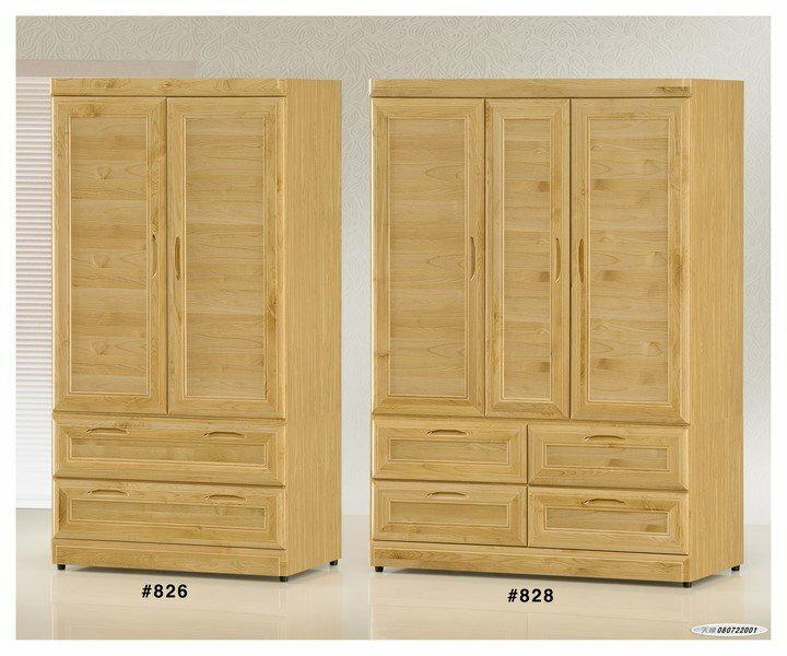 【石川家居】GH-828 赤陽木木心板4*6尺衣櫃 圖右(不含圖左跟其他商品) 需搭配車趟費