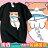 KUSO 搞笑 情侶裝 純棉短T MIT台灣製【YC686-16】萌寵 同歸魚盡 貓  動物萌寵 快速出貨 0