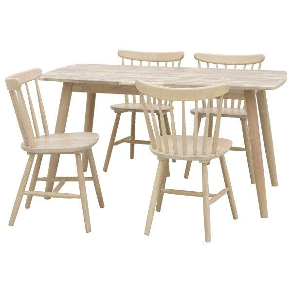 ◎木質餐桌椅組 LONDON 150 WW NITORI宜得利家居 1