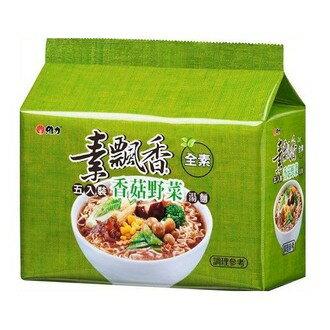 維力素飄香香菇野菜包麵85g(5入)/袋