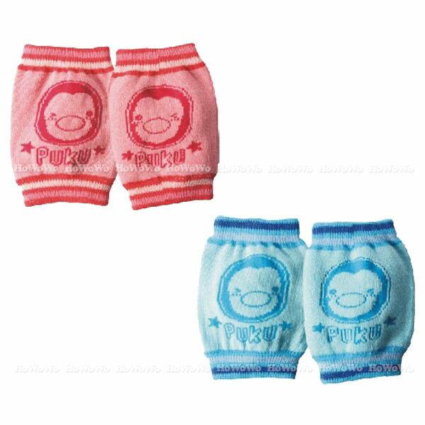 寶寶學步襪套 藍色企鵝防滑護膝 27035 好娃娃