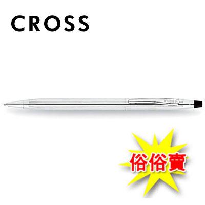 【永昌文具】【CROSS】經典世紀系列 3502 亮鉻原子筆 / 支