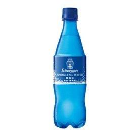Schweppes 舒味思 氣泡水-原味 500ml (24入)/箱【售完為止】