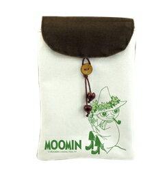 Moomin嚕嚕米正版授權 - 手機袋:【 Snufkin 】