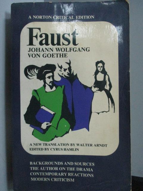 ~書寶 書T9/原文小說_LPQ~Faust_Johann Wolfgang Von Go