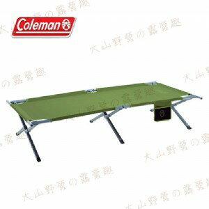 【露營趣】中和安坑 Coleman CM-31295 TRAILHEAD 行軍床 鋼製行軍床 摺疊床 折疊床 休閒床 涼床