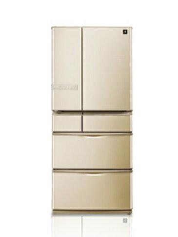 SHARP 夏普 SJ-XF60AT-T , SJ-XF60AT 六門環保冰箱 (601L) ~日本原裝進口~ 【零利率】※熱線07-7428010
