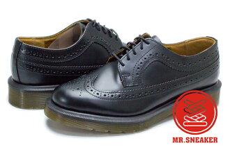 ☆Mr.Sneaker☆ Dr.Martens 3989 Black 馬汀 皮革 真皮 牛津鞋 雕花 復古 黑 雅痞 紳士 英國