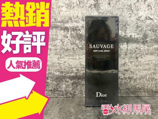 Dior迪奧SAUVAGE曠野之心沁涼噴霧100ml◐香水綁馬尾◐