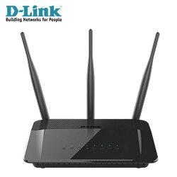 【D-Link 友訊】DIR-809 AC雙頻分享器 【加碼送發光USB充電頭】【三井3C】