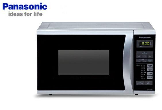 ★展示機出清品★Panasonic特易潔塗裝爐體微電腦25L微波濾NN-ST342NNST342***免運費***