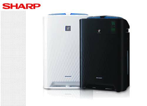 ★牌面品★SHARP 夏寶 水活力增強空氣清淨機 KC-A50T-B/W 適用11-12坪 **免運費**