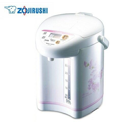 【神回饋!滿$3000回饋10%】ZOJIRUSHI 象印 微電腦電動熱水瓶-3.0L CD-JUF30-FS /CD-JUF30 **免運費**