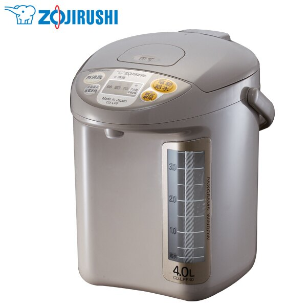 ★贈杯墊z-28★ZOJIRUSHI 象印4公升寬廣視窗微電腦電動熱水瓶 CD-LPF40
