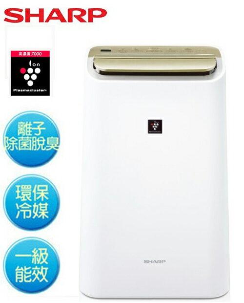 ~SHARP夏普~10L自動除菌離子溫濕感應清淨  除濕兩用機 DW~E10FT DWE1