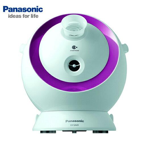 [滿3千,10%點數回饋]Panasonic國際牌奈米水離子美顏器EH-SA43**免運費**