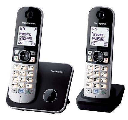 Panasonic 國際牌數位中文雙子機無線電話 KX-TG6812 / KXTG6812 /KX-TG6812TW **免運費**