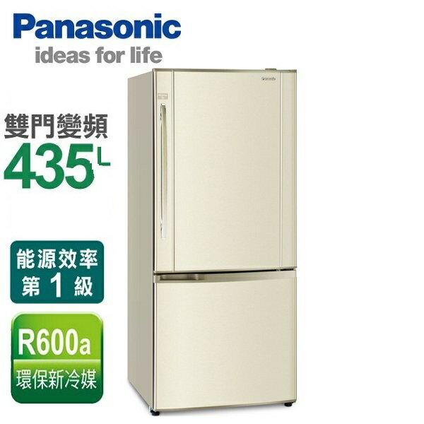 ★分期0利率★Panasonic 國際牌 435L 變頻雙門電冰箱 NR-B435HV **免運費+基本安裝+舊機回收**