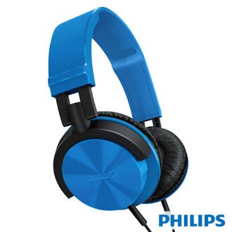 PHILIPS 飛利浦 輕量頭戴式耳機 SHL3000 /SHL-3000 (藍色) **免運費**