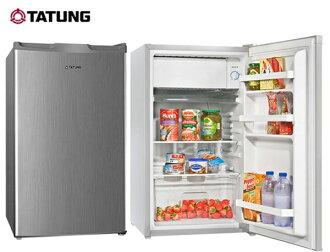 TATUNG大同 100公升環保省電單門小冰箱 TR-100HT /TR-100HT-S **免費基本安裝**