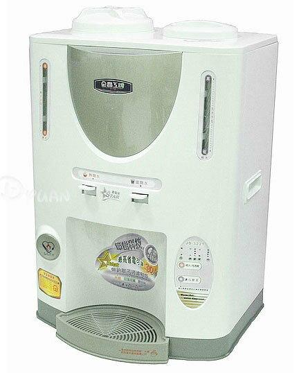 100%  晶工牌10.1L節能科技溫熱全自動開飲機 JD~3221 ~~免 ~~