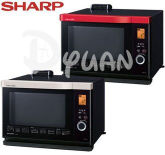★牌面品★SHARP 夏寶 搭載過熱水蒸氣技術HEALSLO水波爐 AX-1300T 紅/白色 **免運費**