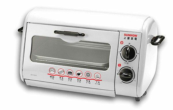 SUNHOW 上豪 6L 旋鈕小烤箱 OV-0680 **免運費**