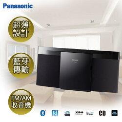 [滿3千,10%點數回饋]★展示機出清★『Panasonic』 國際牌藍牙NFC連結薄型組合音響 SC-HC29 /SCHC29 /SC-HC29-K **免運費**
