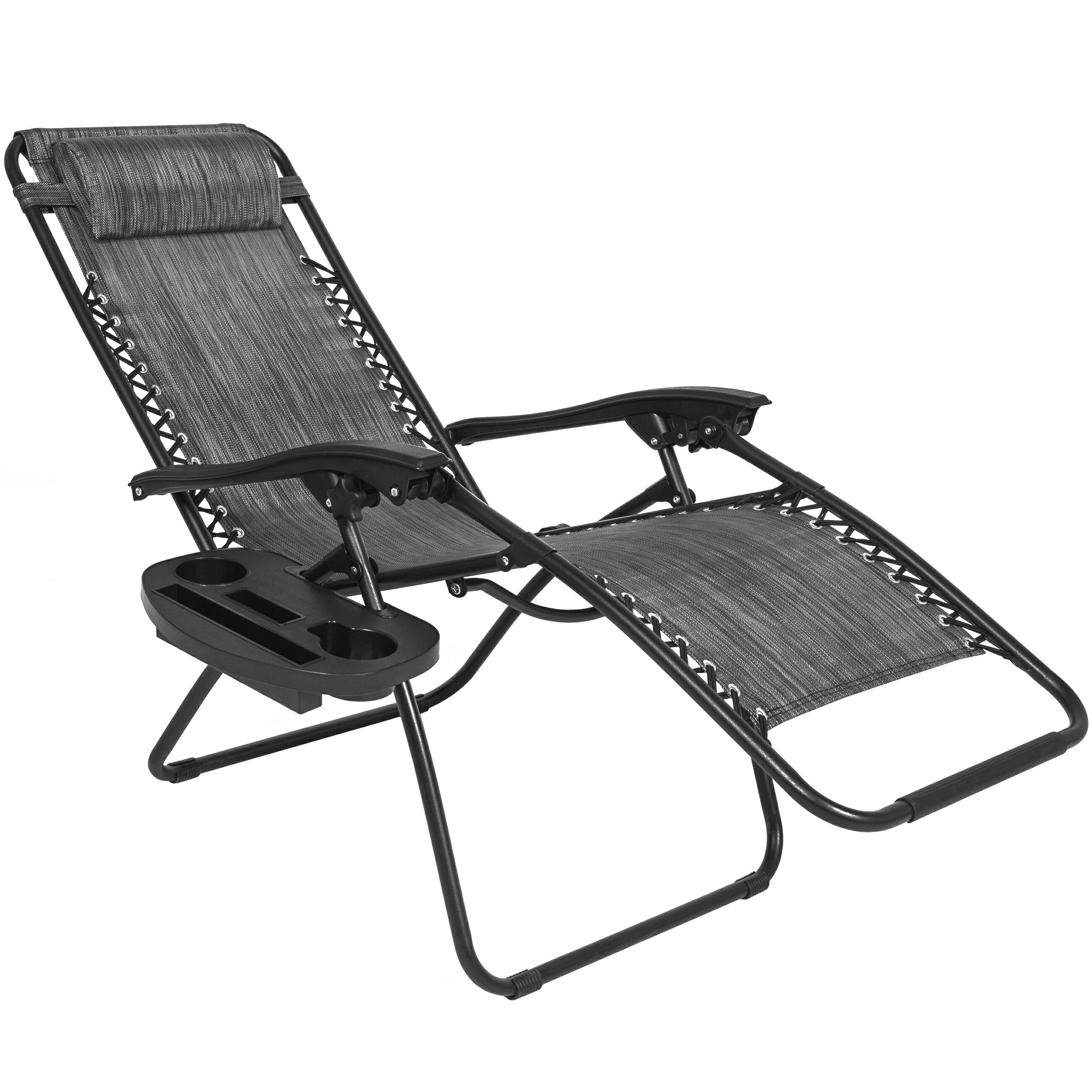Best Choice Products Set Of 2 Adjustable Zero Gravity Lounge Chair  Recliners For Patio, Pool
